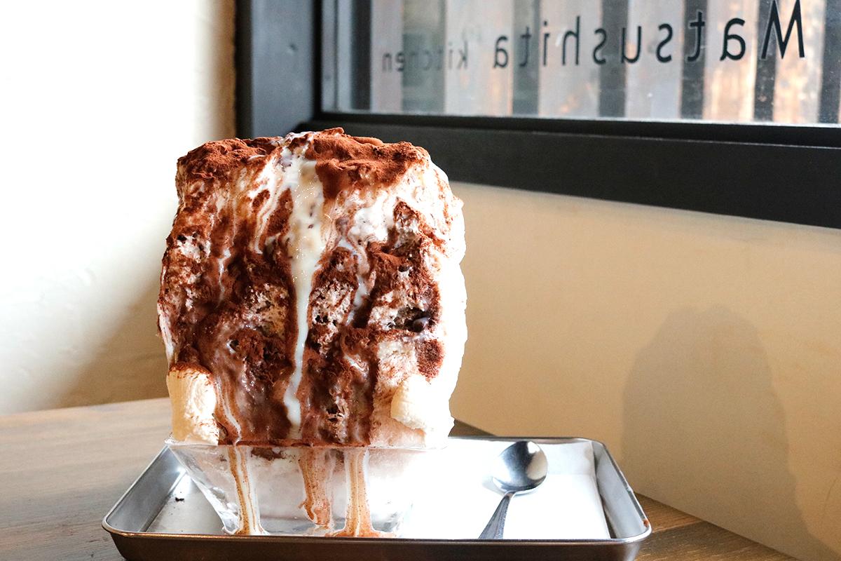 【玉造】ふわふわ氷にとろ〜りミルク。癒しのご褒美かき氷『マツシタキッチン』