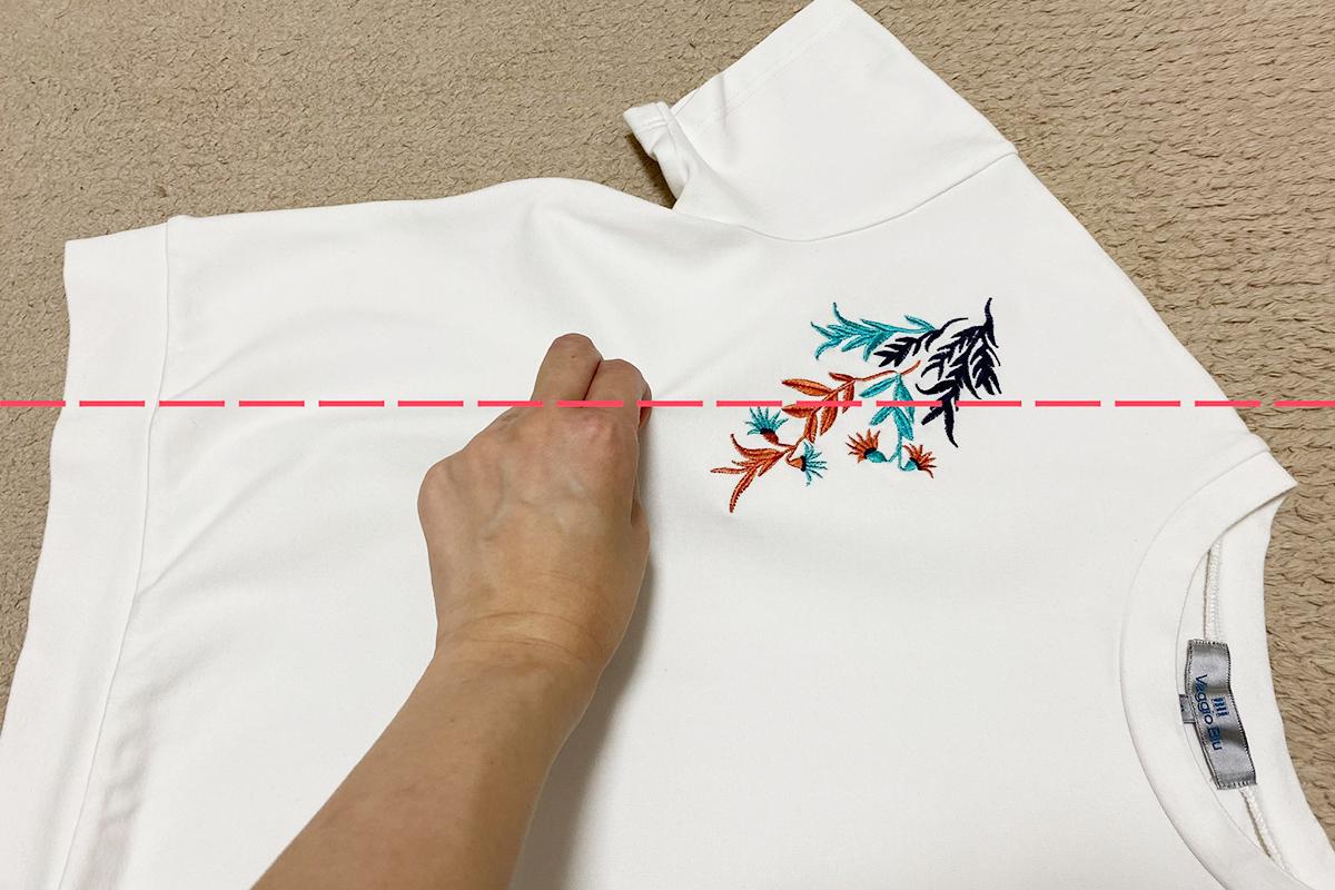 Tシャツのたたみ方基本