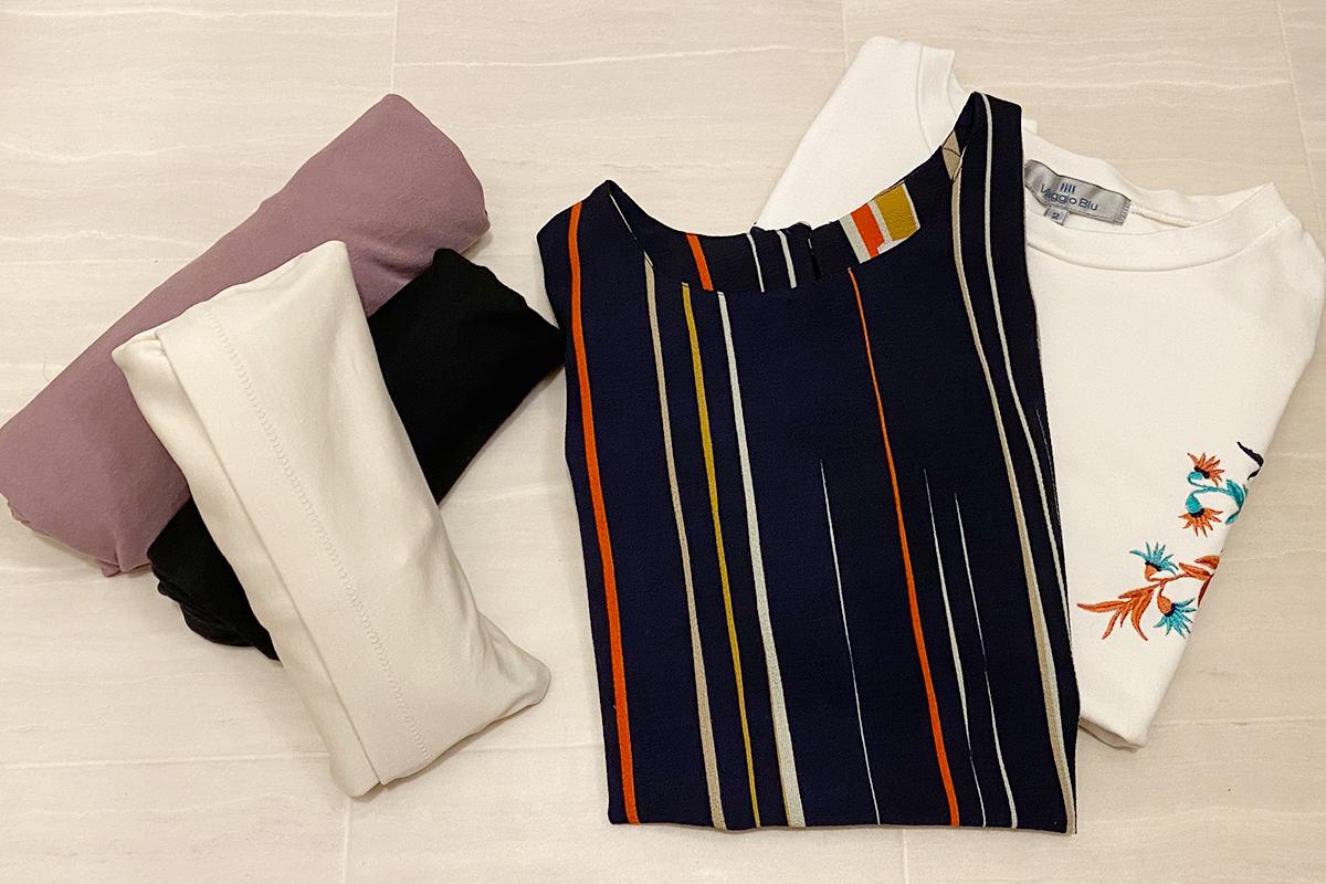 Tシャツのたたみ方3選!収納もキレイかつコンパクトに