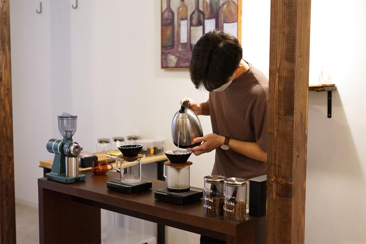 OurLog.Coffeeオーナーのユン・ソンファンさん