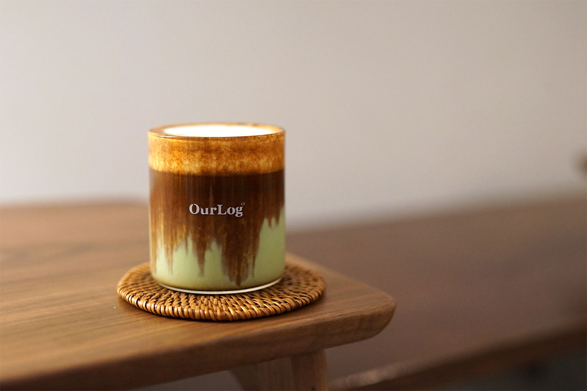 看板商品の抹茶ラテ