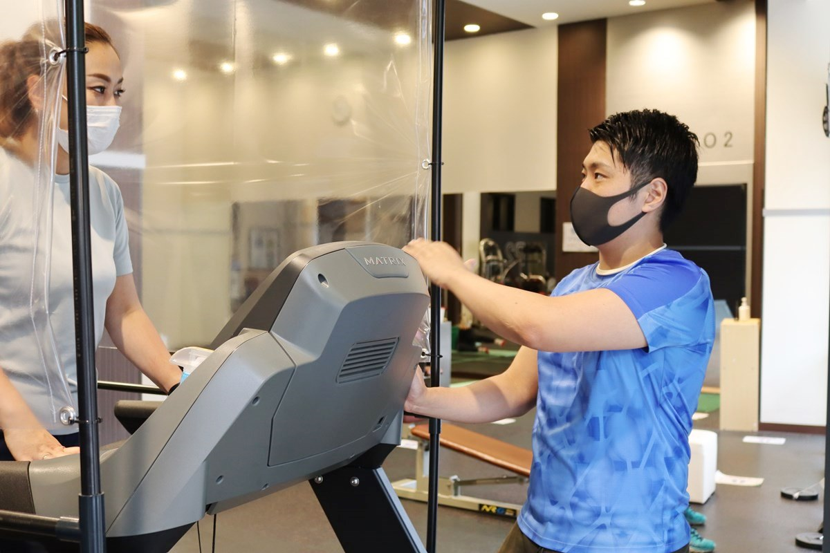 『スポーツクラブNAS なんばパークス』ランニングマシンを使ってのダイエットプログラム