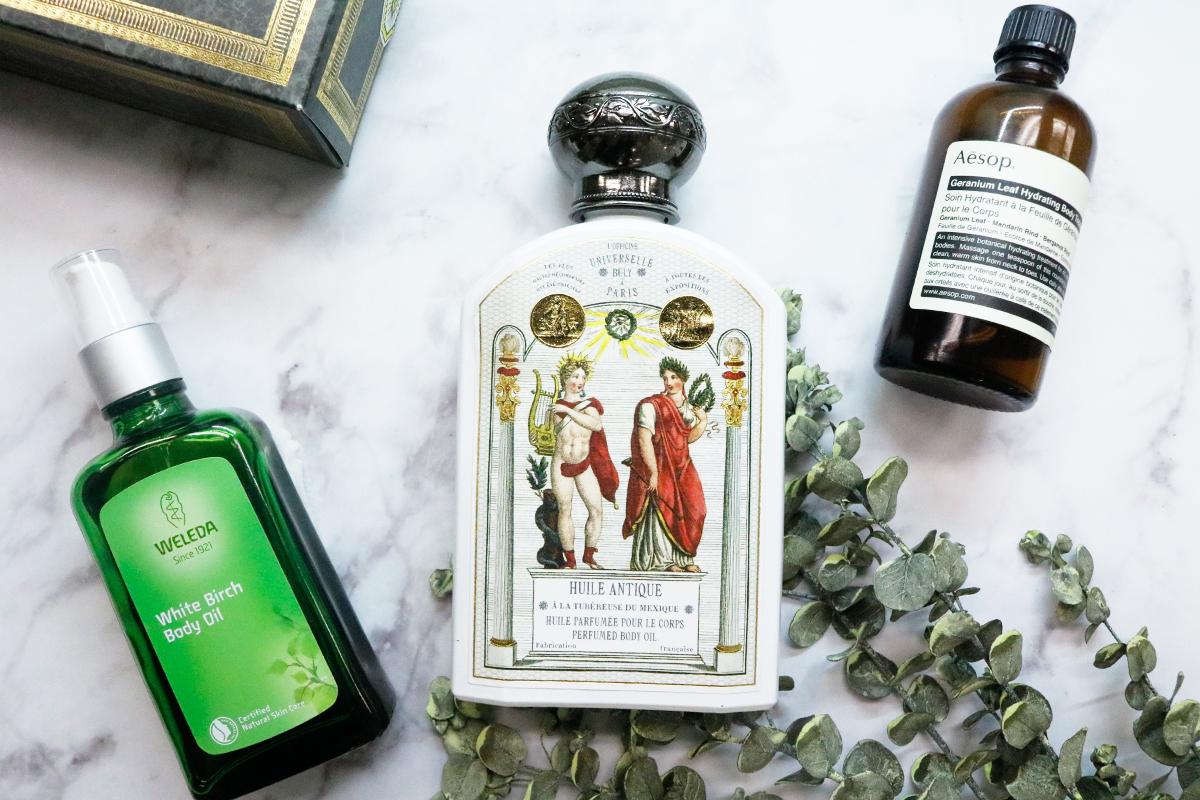 【香りが持続】おすすめボディオイルの使い方や効果をご紹介