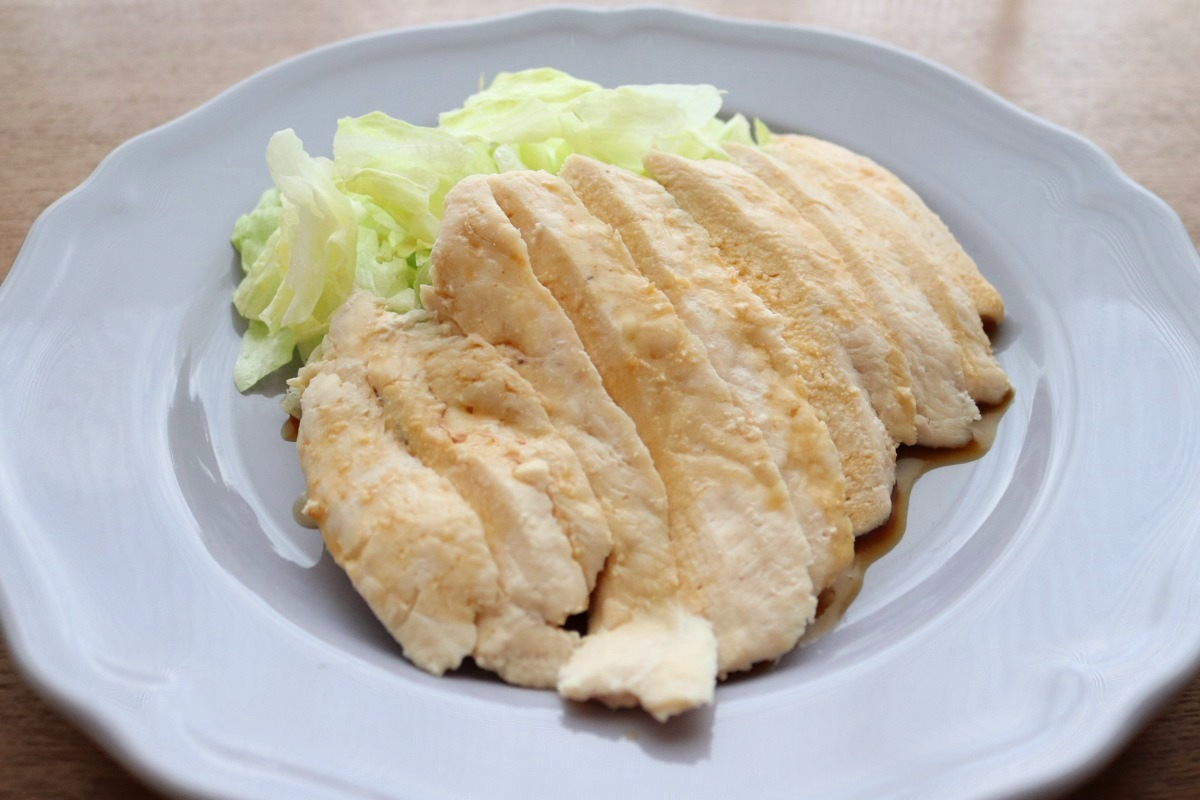 大学講師考案の免疫力向上レシピ 蒸し鶏の甘辛ソースがけ