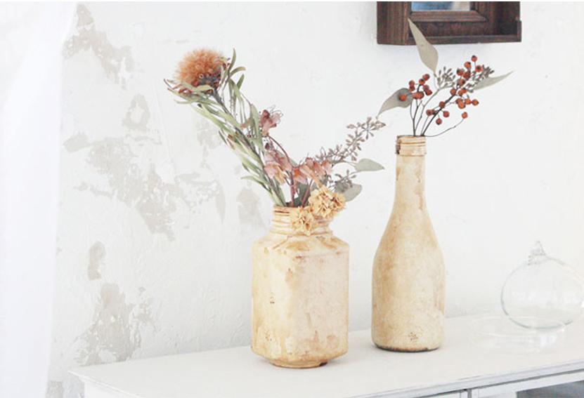 陶器製ボトル