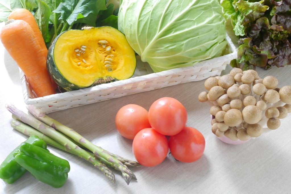 免疫力向上レシピ ミネラルやビタミン