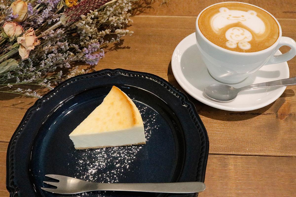 エミューカフェチーズケーキ