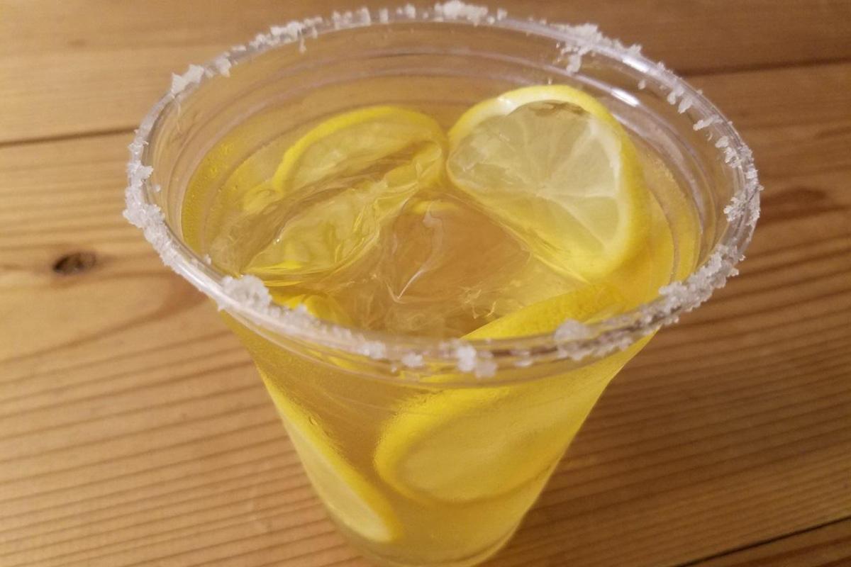レモンが香るジャスミンティー ソルティドッグ風