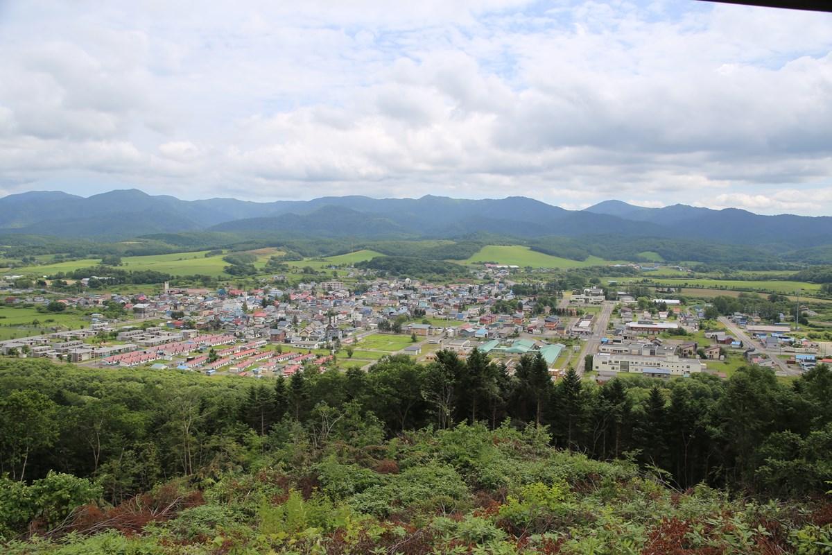 北海道中頓別町の全景