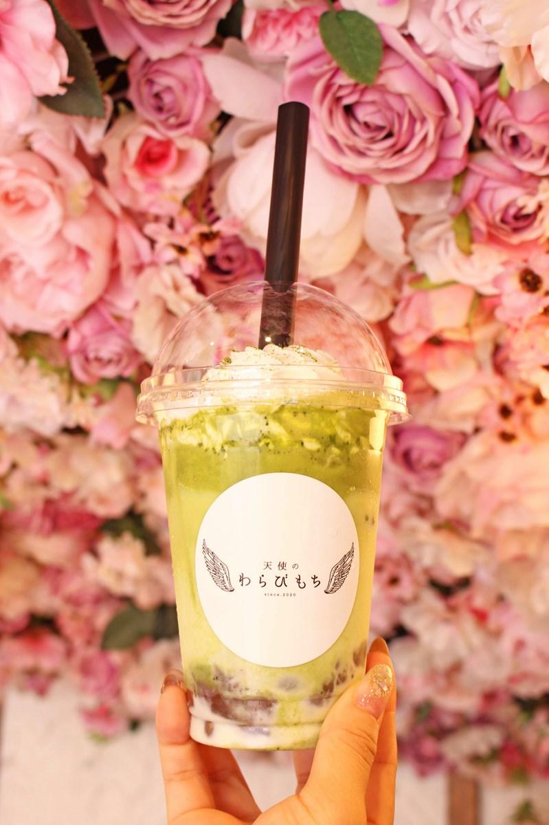 天使のわらびもちの人気ドリンク「飲むわらびもち 抹茶」