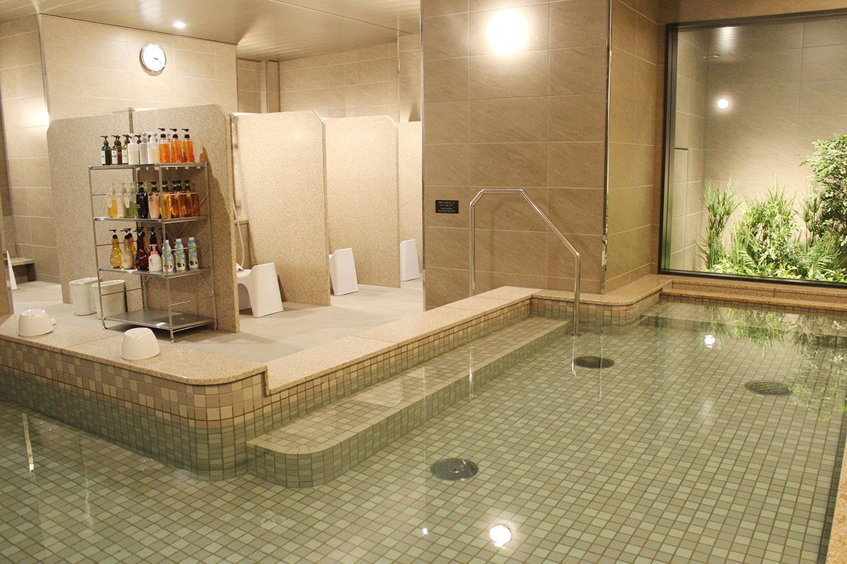 エルシエント大阪大浴場