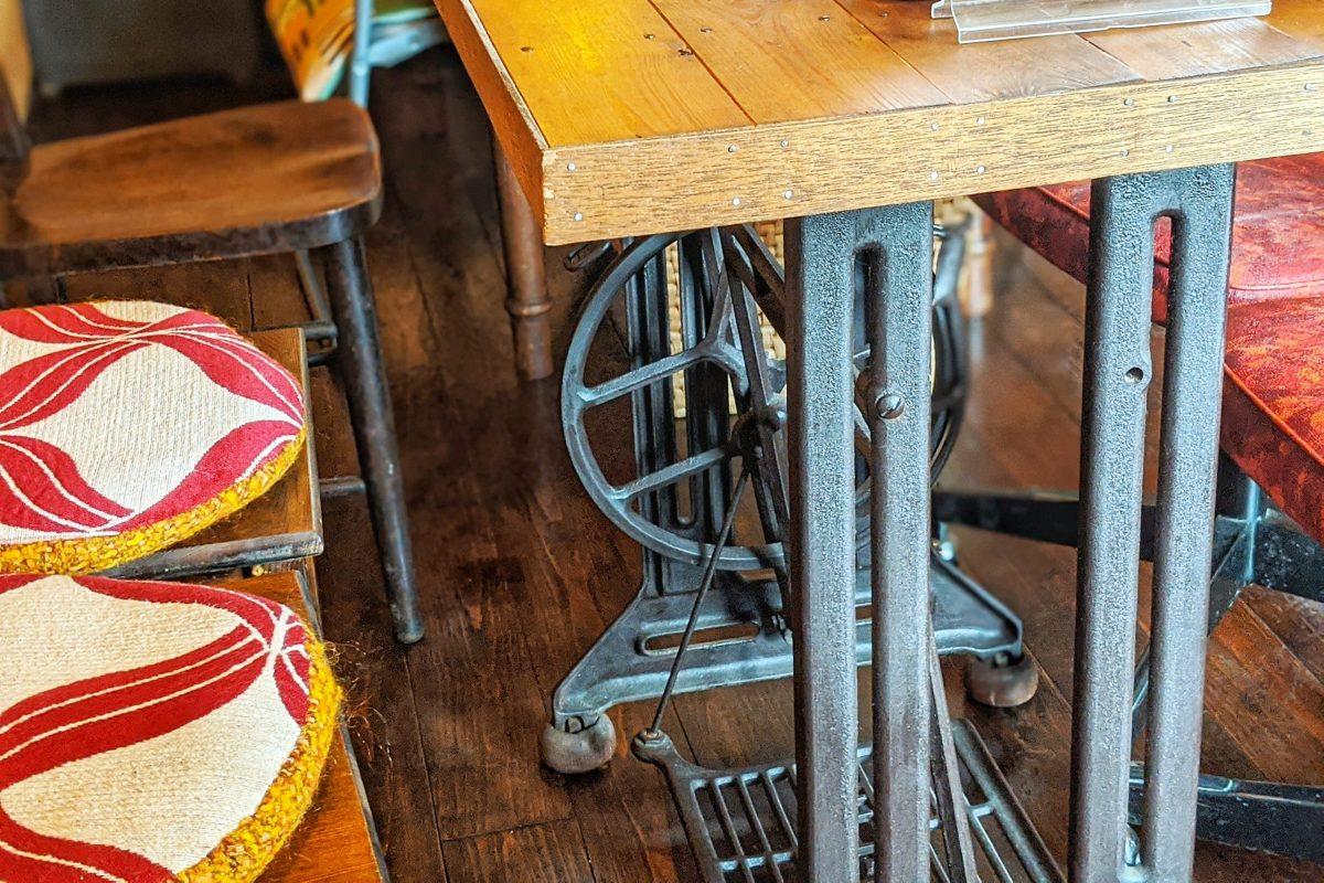 Sabio Cafeミシン台テーブル