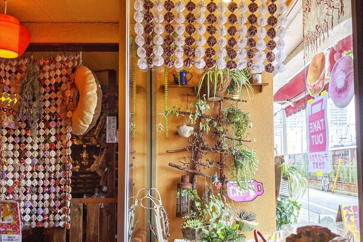 Sabio Cafeの窓際席