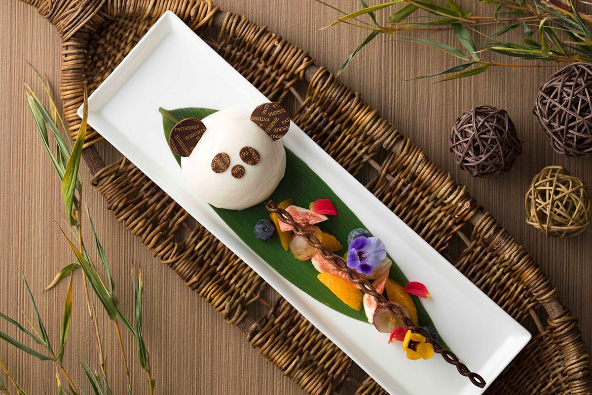 《期間限定》『南紀白浜マリオットホテル』に愛らしいパンダのケーキが登場