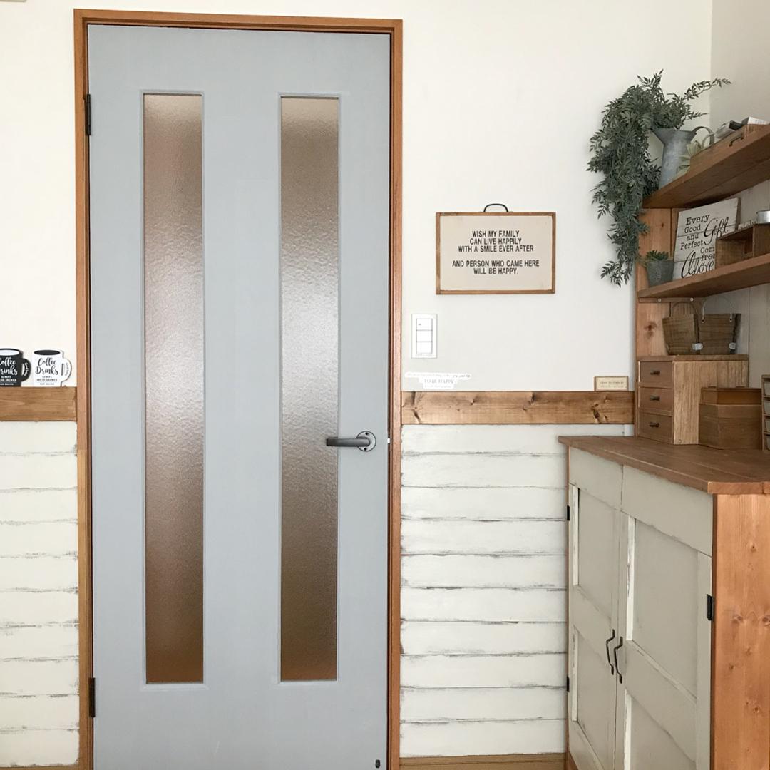 襖やドアのマステリメイク