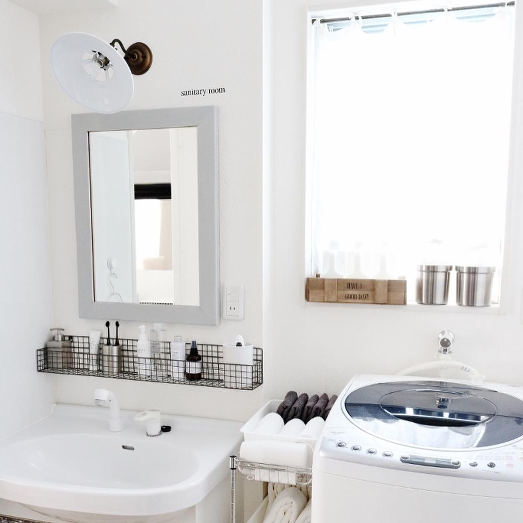 瀧本 真奈美さんのマステリメイク 洗面所