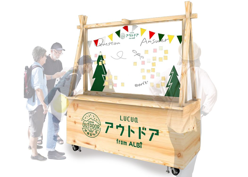 LUCUA OUTDOOR from ALBiのQAコーナー