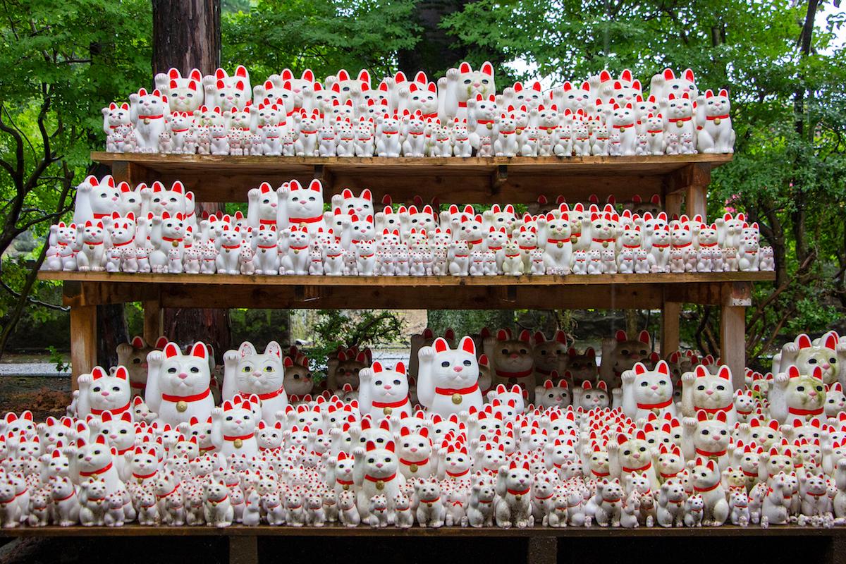 """猫好き必見!9月29日は""""招き猫の日""""!伊勢では「来る福招き猫まつり」も開催"""