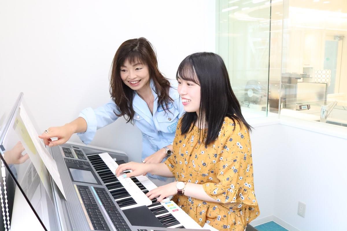 三木楽器心斎橋店エレクトーン体験レッスン