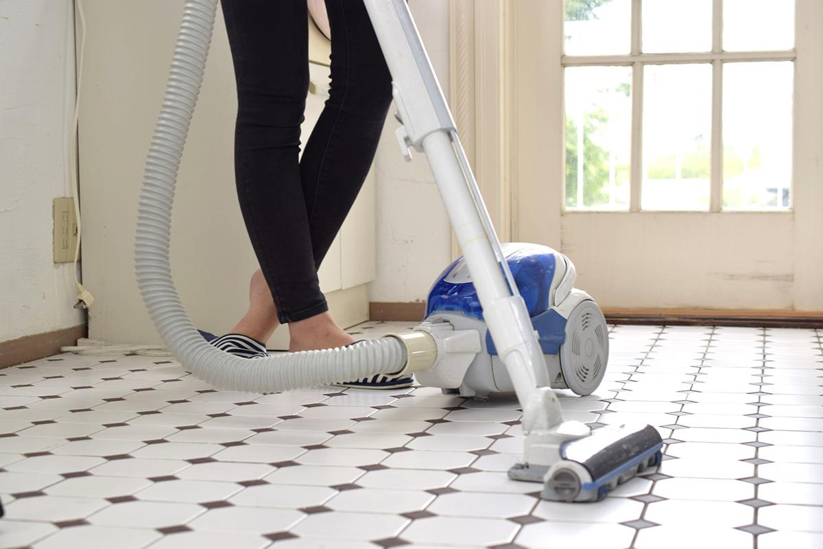 一人暮らしに必要なもの「掃除機」