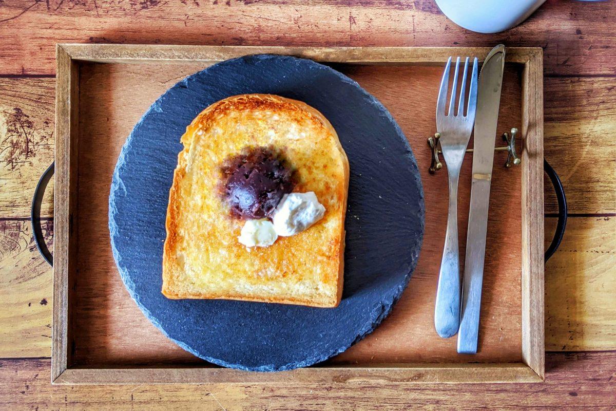 夙川ブレッドのあんバタートースト