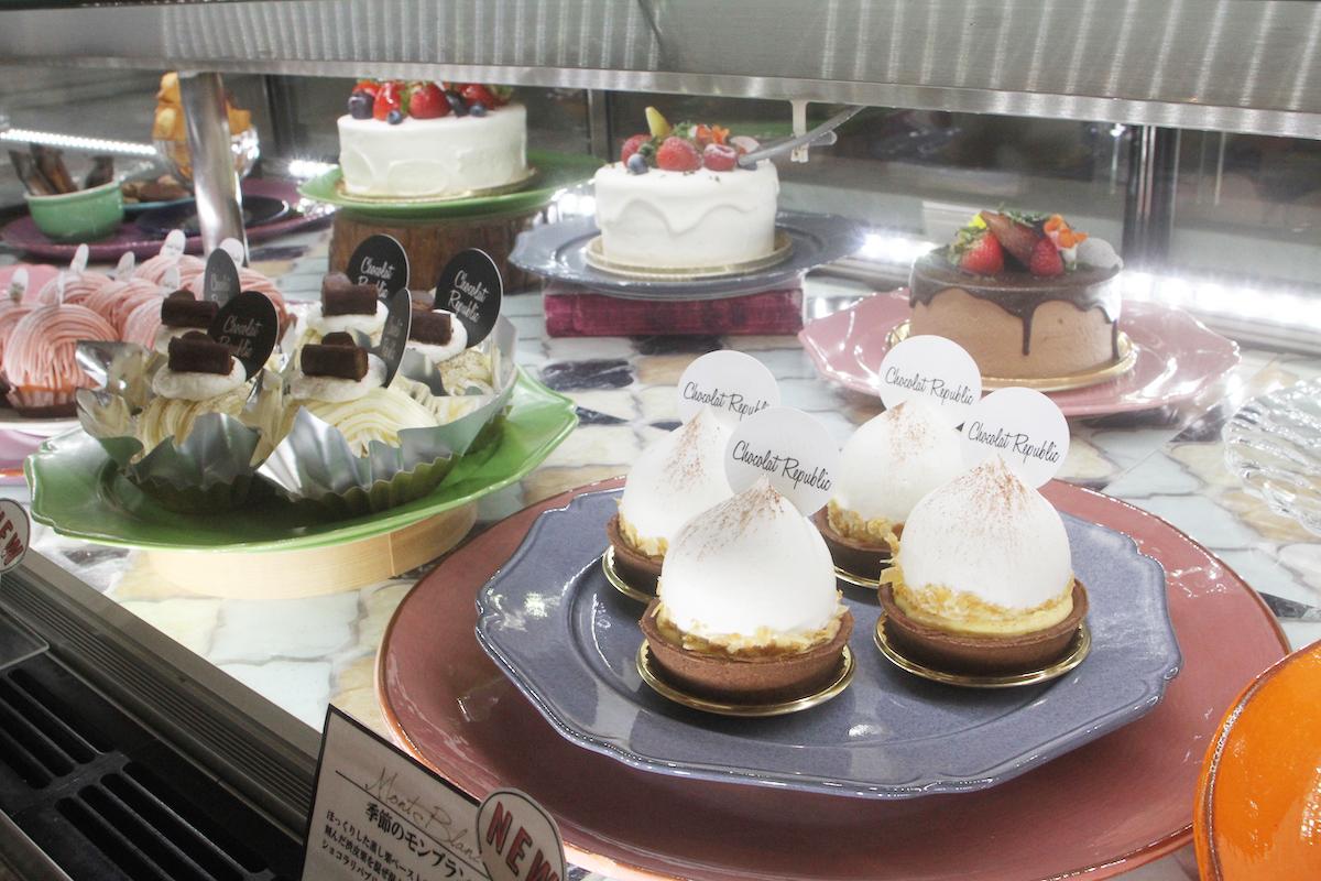 ショコラリパブリック三宮本店ケーキ