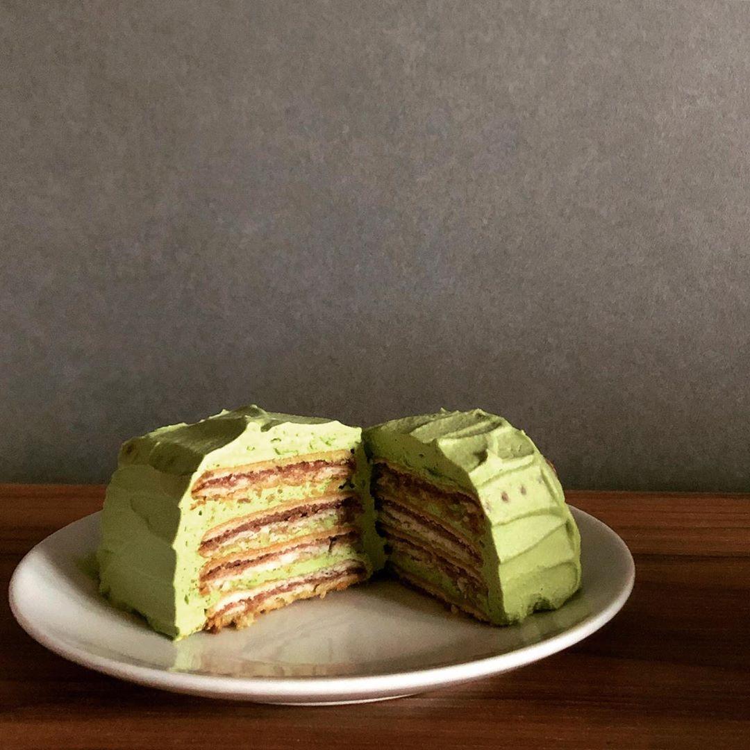 黒柳徹子ケーキの抹茶_レシピ