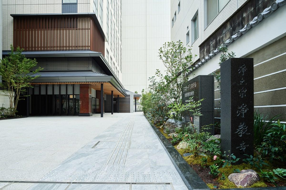 『三井ガーデンホテル京都河原町浄教寺』外観