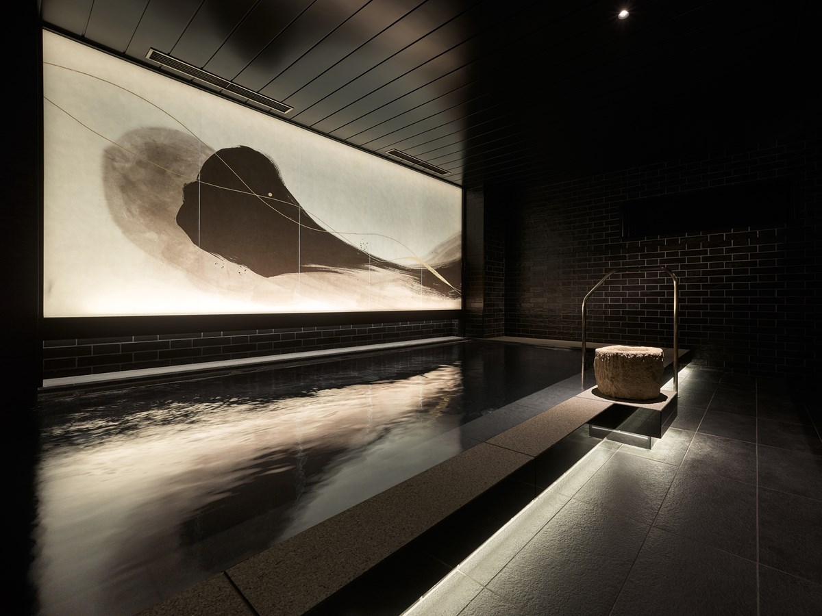 三井ガーデンホテル京都河原町浄教寺の女性用大浴場