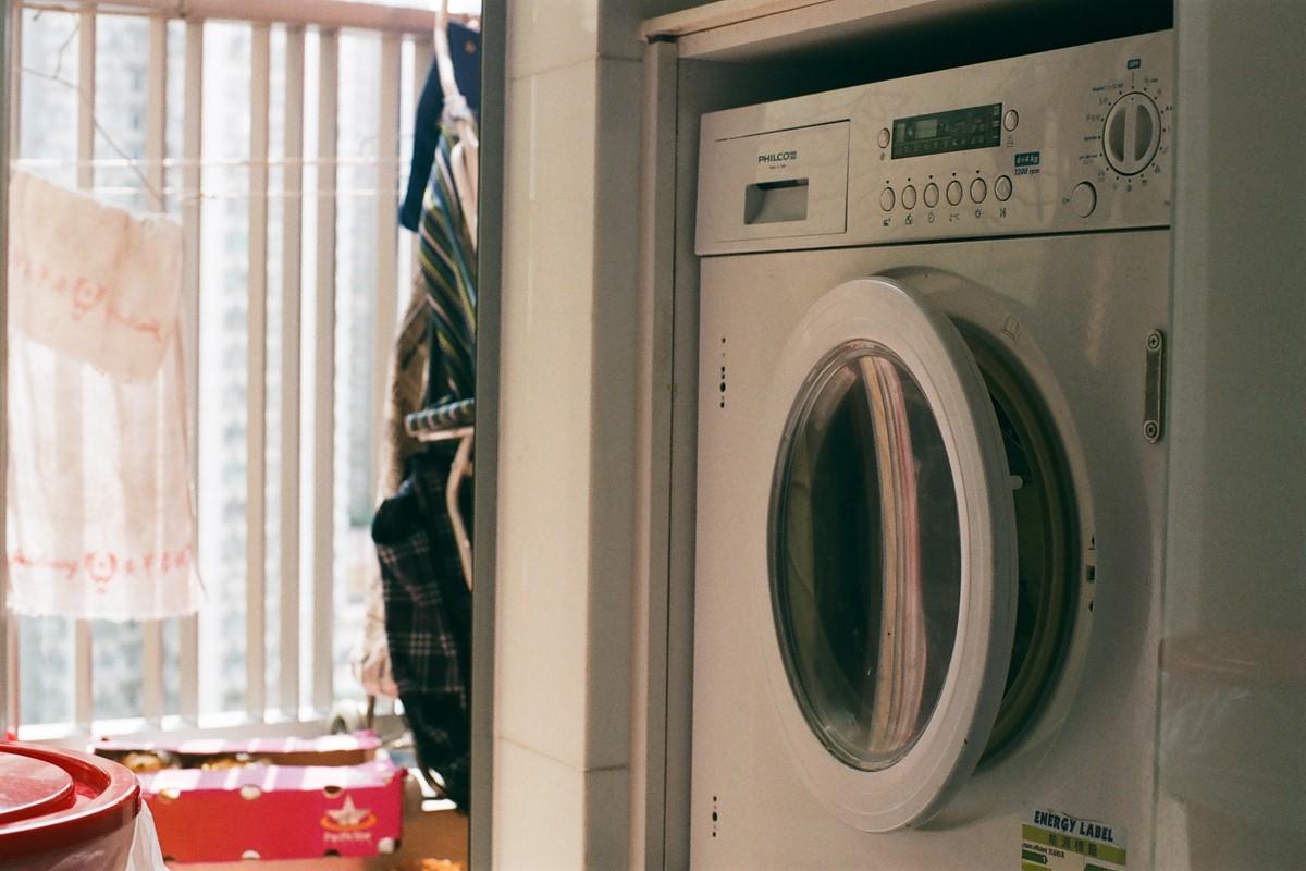ドラム式洗濯機でふわふわ