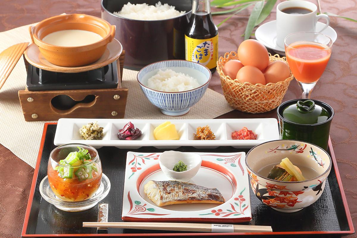 ホテルビナリオ嵯峨嵐山の朝食