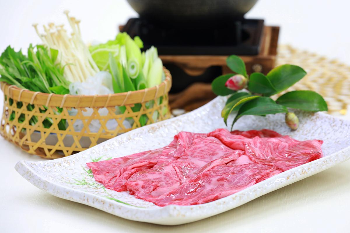 すき焼き会席の神戸牛