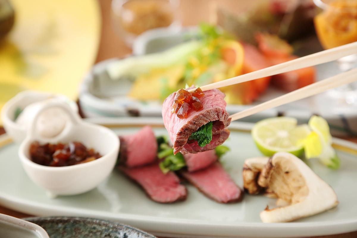 ホテルビナリオ嵯峨嵐山の夕食メイン