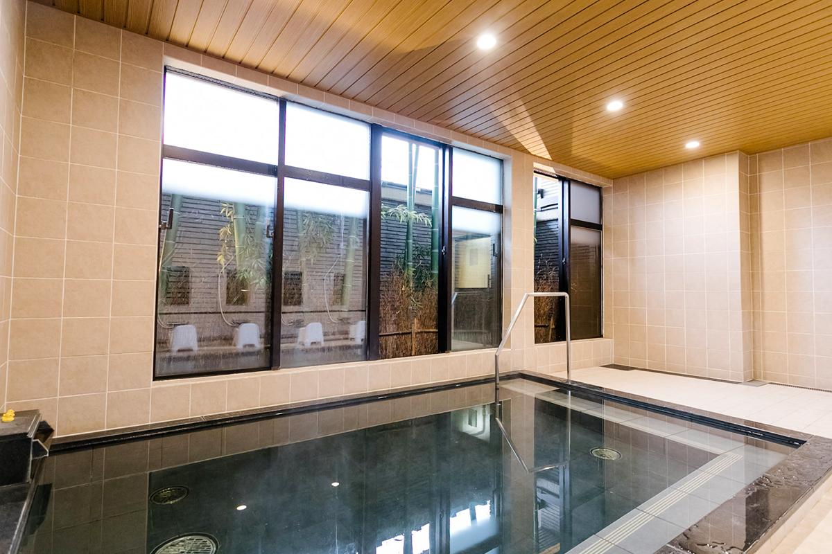 ホテルビナリオ嵯峨嵐山の大浴場