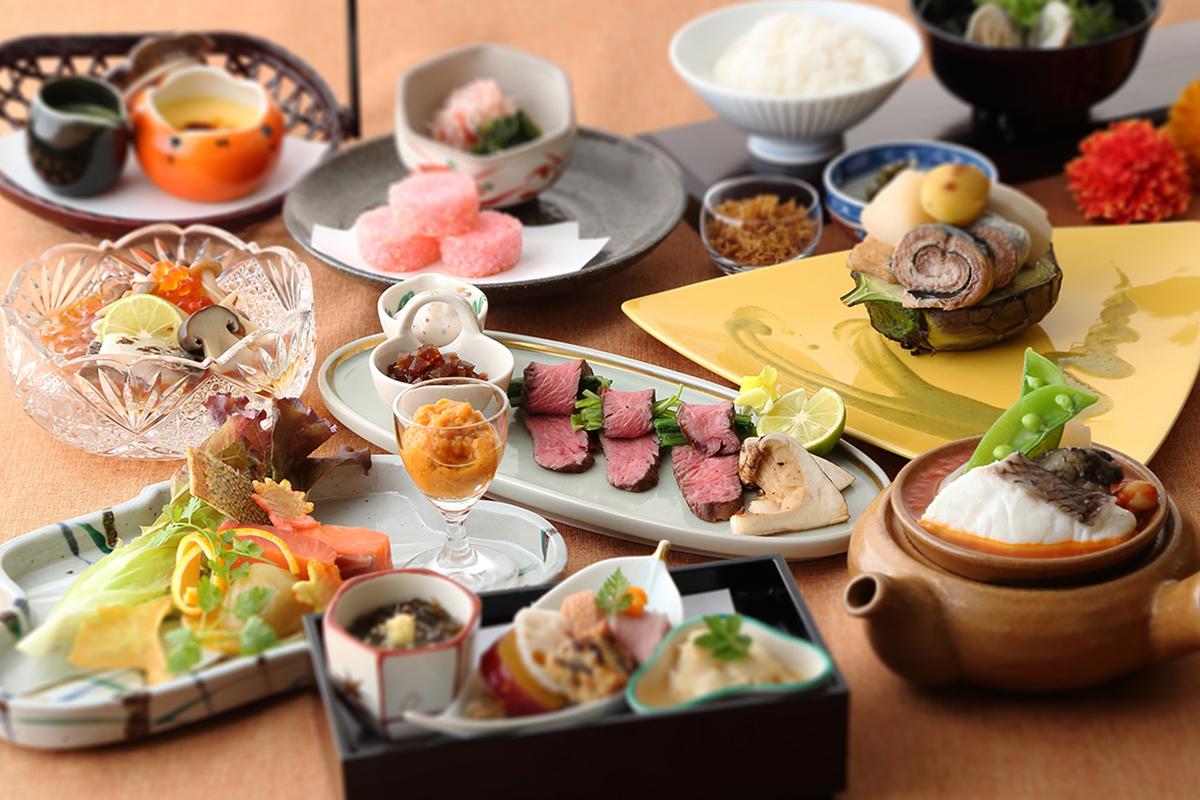 ホテルビナリオ嵯峨嵐山の夕食