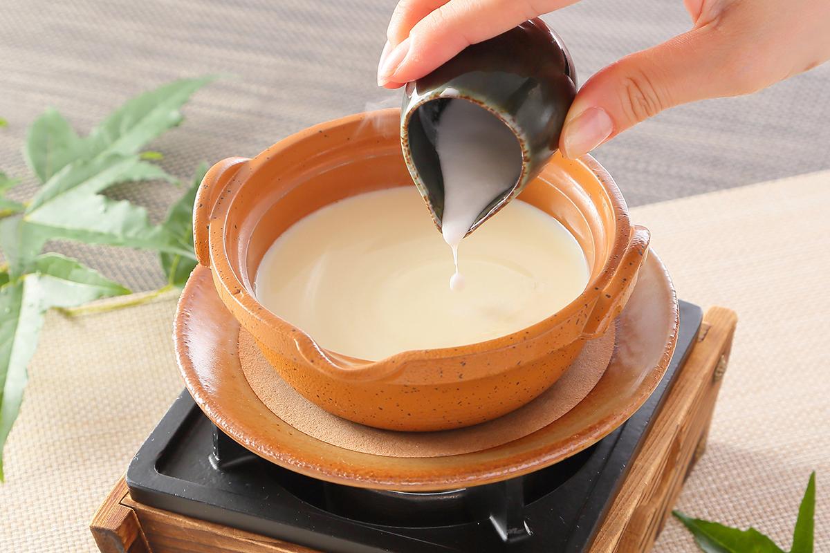 手作り豆腐体験
