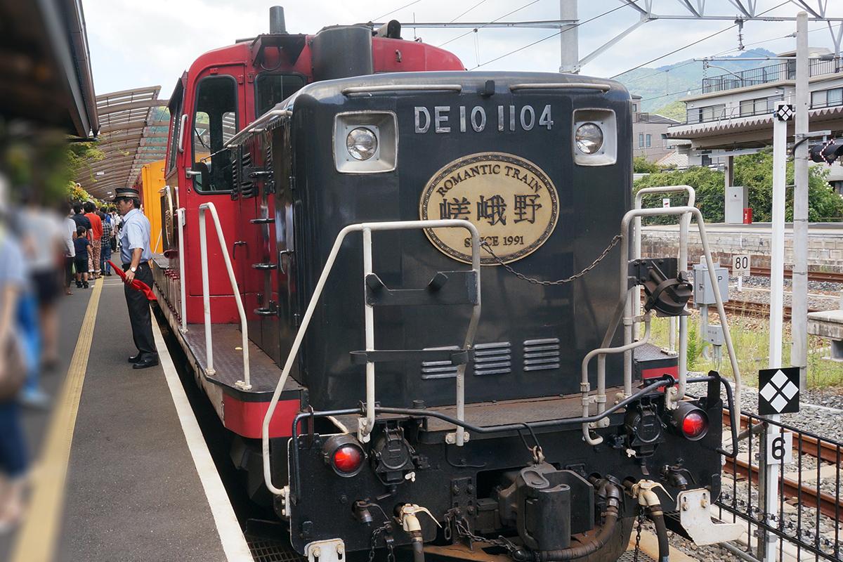 『嵯峨野トロッコ列車』
