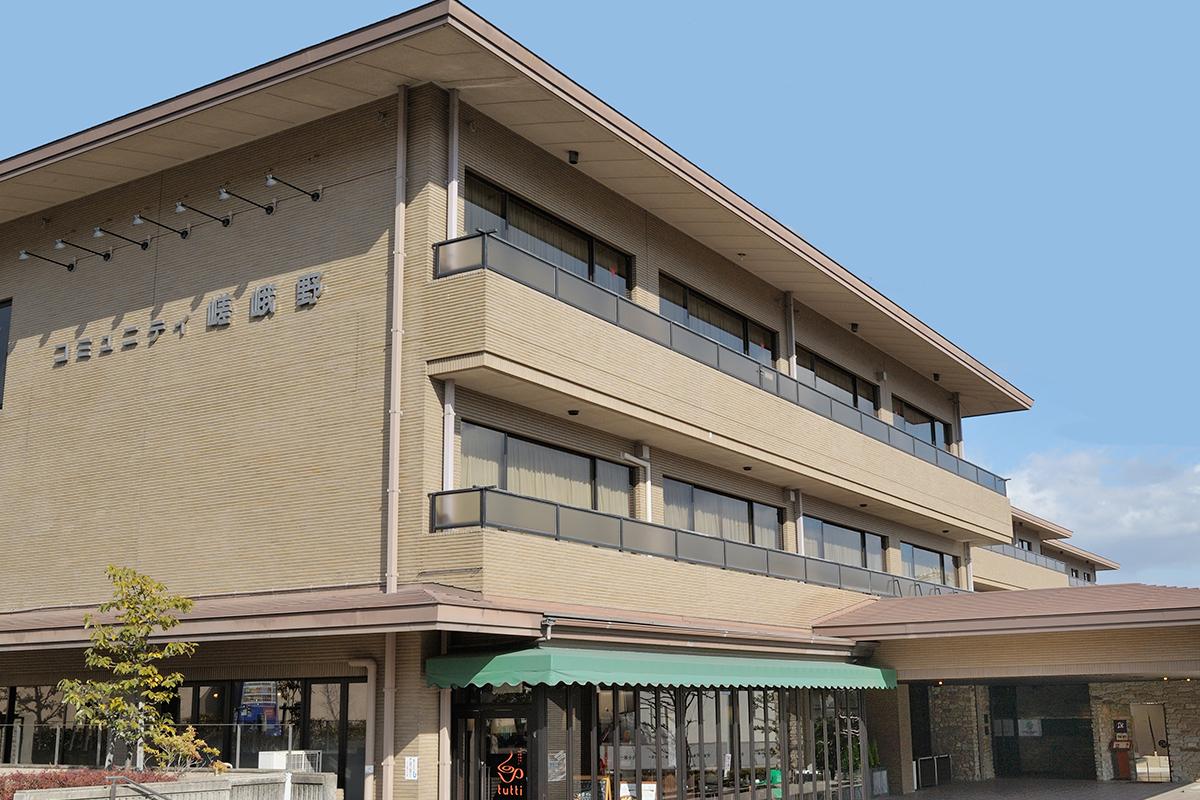 ホテルビナリオ嵯峨嵐山の外観