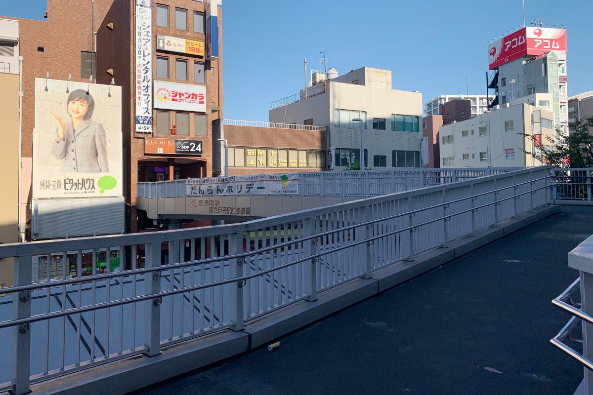 SDF24阪急伊丹駅前店への道順