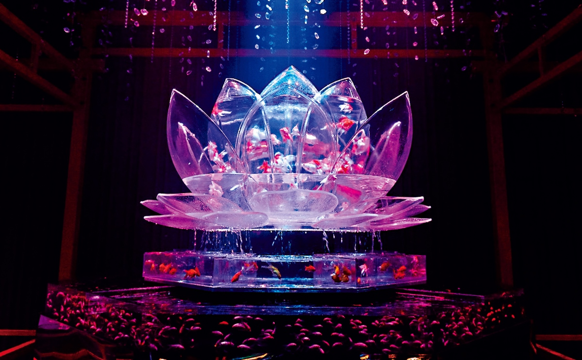 【二条城】世界遺産で『アートアクアリウム城~京都・金魚の舞~』開幕!