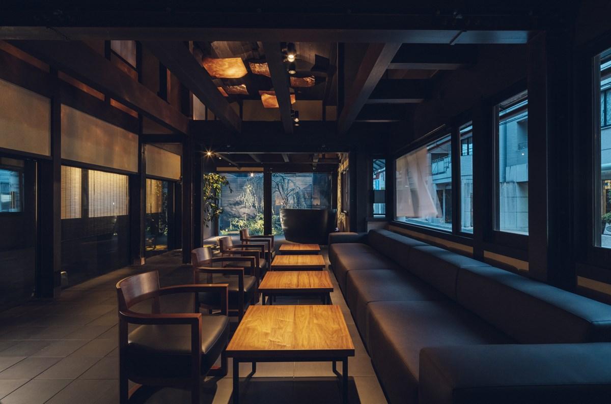 『nol kyoto sanjo』宿泊者専用ラウンジ