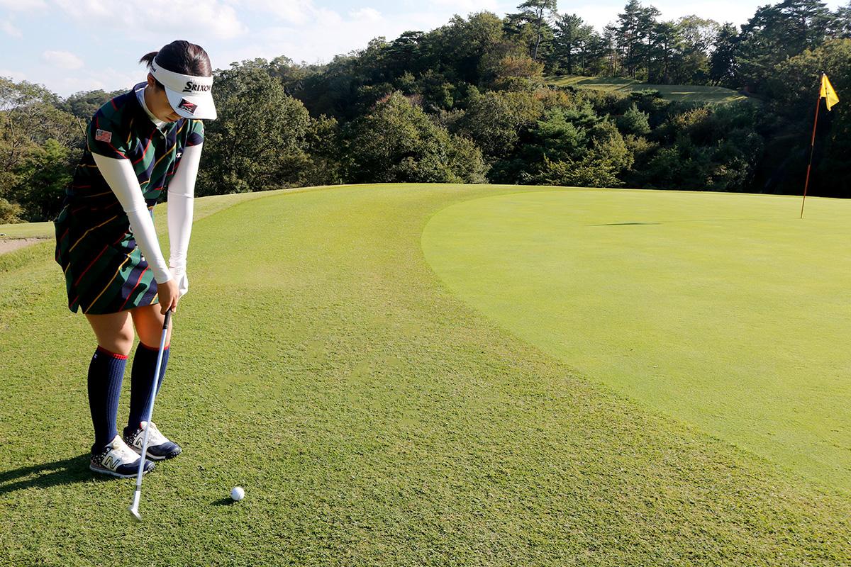 ゴルフコースグリーン