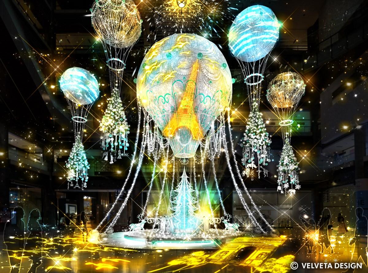 【梅田】『グランフロント大阪』のクリスマスイルミネーションは2020年も感動的