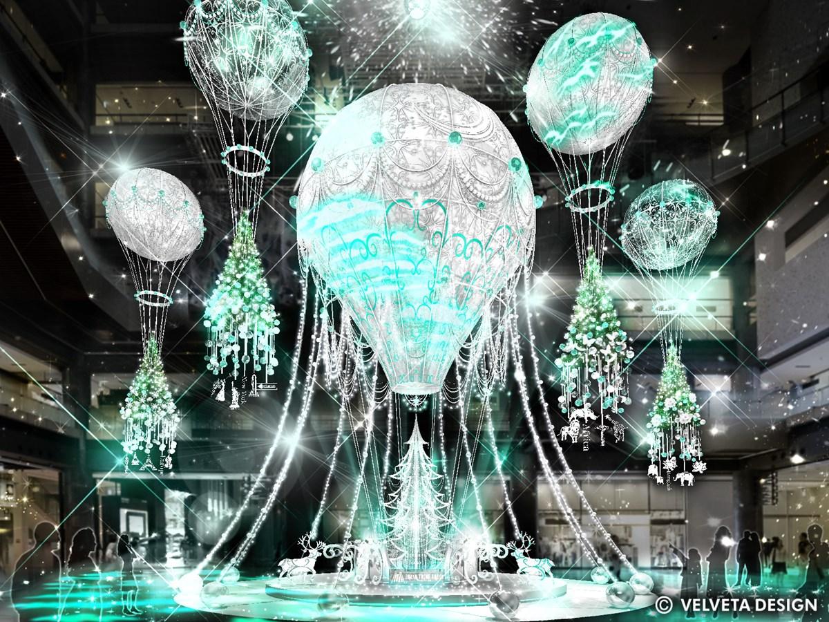 グランフロント大阪2020年クリスマスツリー