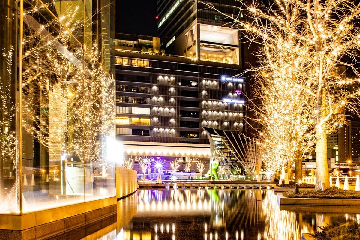 グランフロント大阪2020年イルミネーション