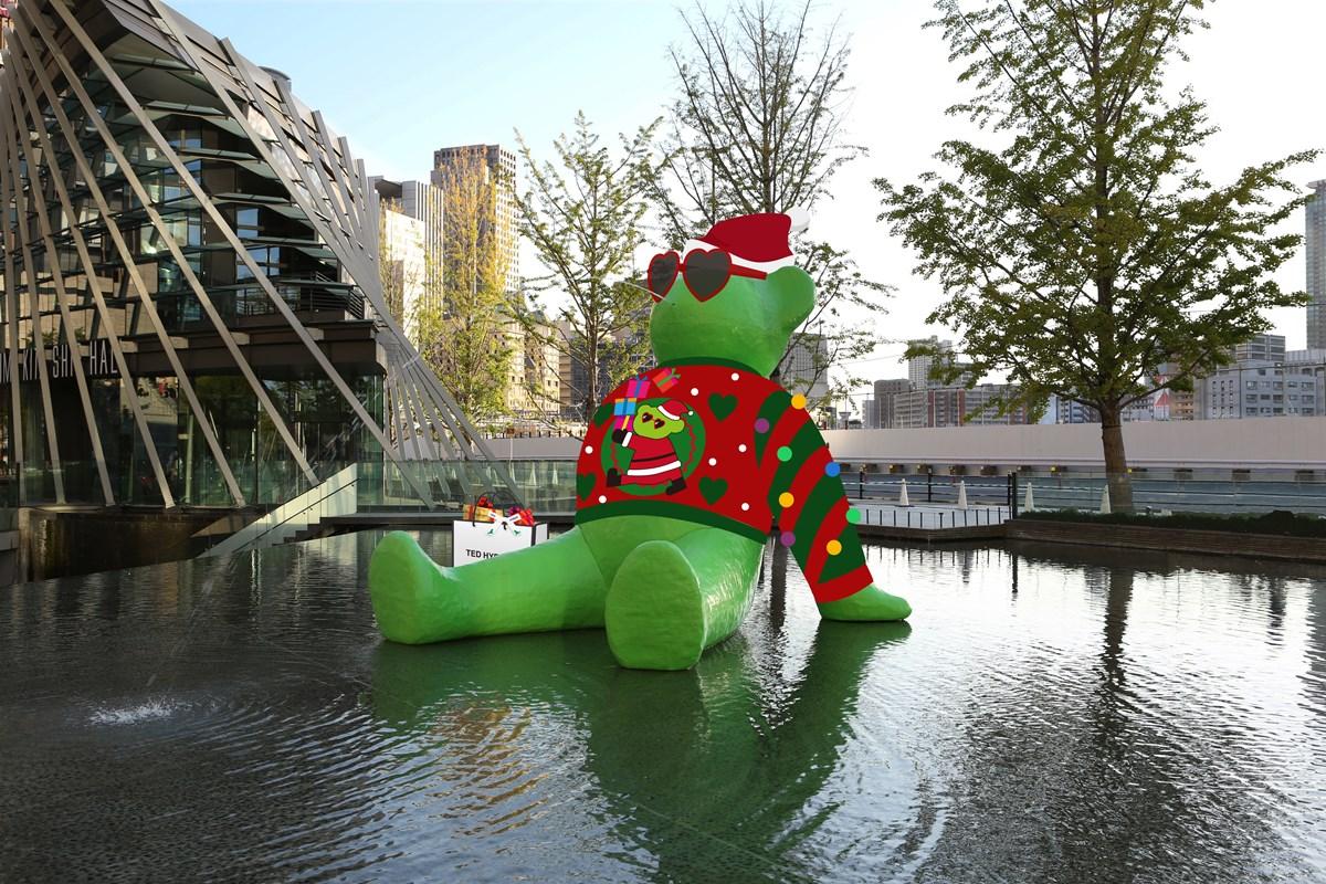 「TED HYBER –Ugly Christmas Sweater-(テッド・イーベル –アグリー クリスマス セーター-)」