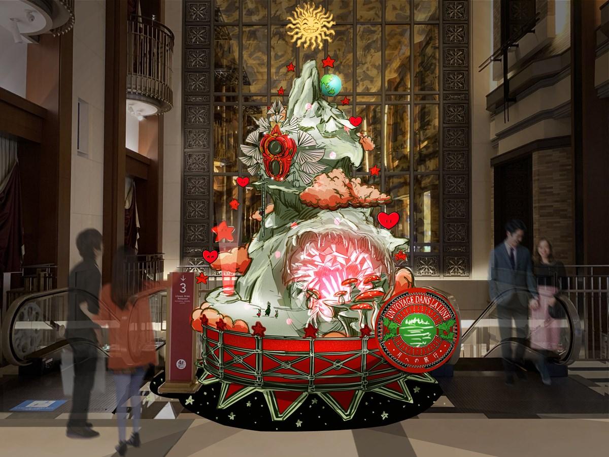 2020「ハービスクリスマスフェア」ニコラ・ビュフ