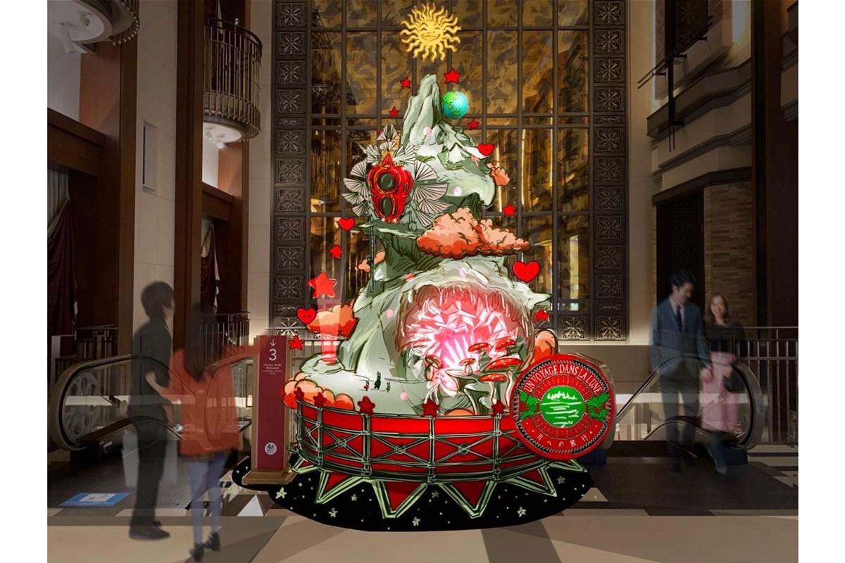梅田で「ハービスクリスマスフェア」開催、冨永愛厳選アイテムのプレゼントも
