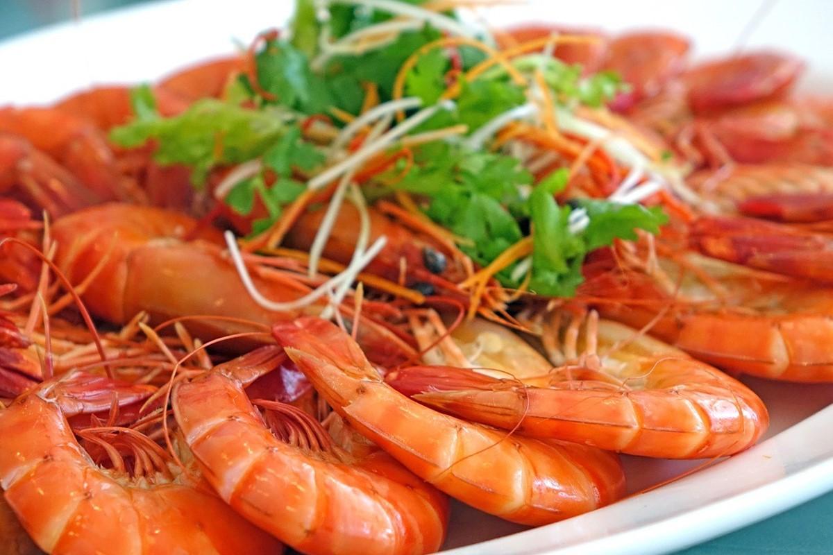 中国料理名物蒸し海老