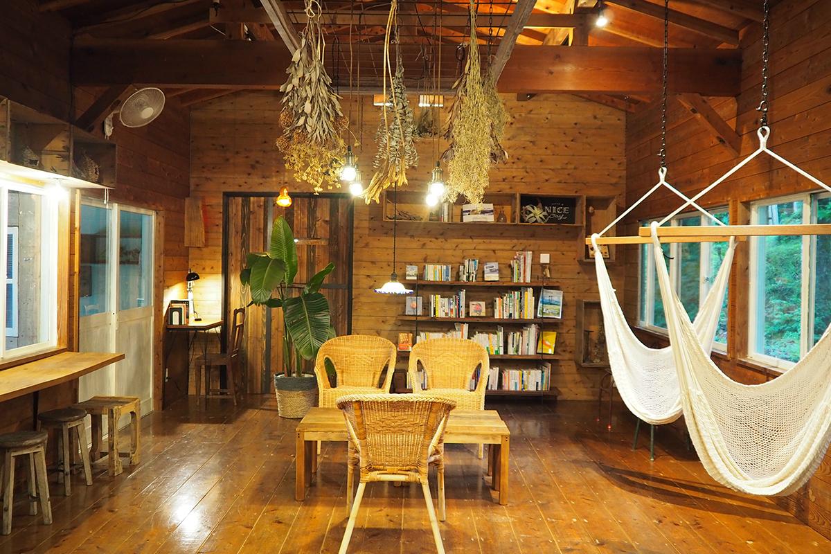 森の読書室
